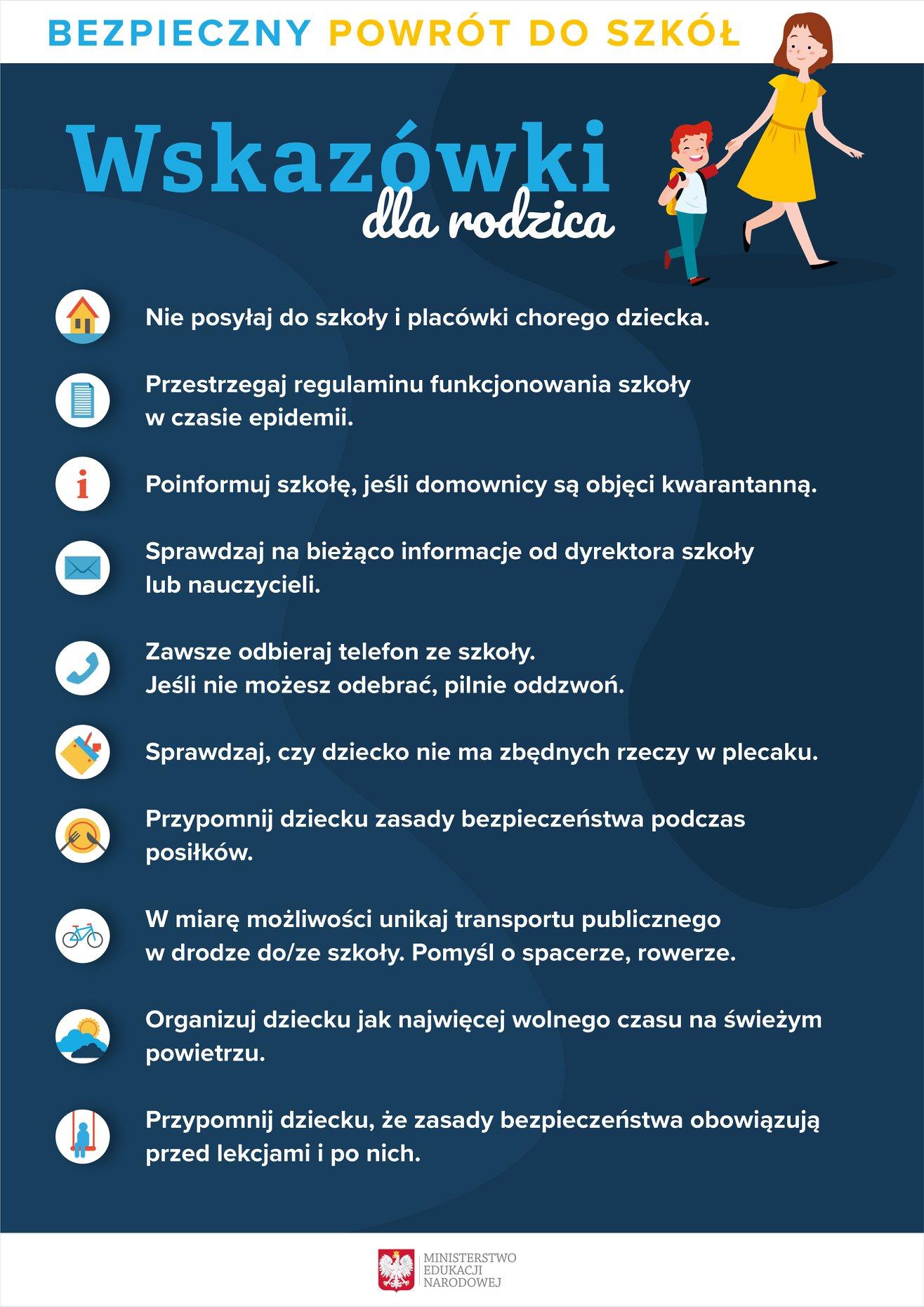 Wytyczne dla rodziców